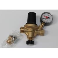 Válvula Enchimento c/manómetro pressão