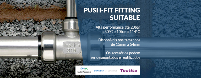 Tectite 316 push-fit
